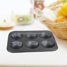 Foot ball forma muffin pan/molde/molde <span class=keywords><strong>para</strong></span> muffins