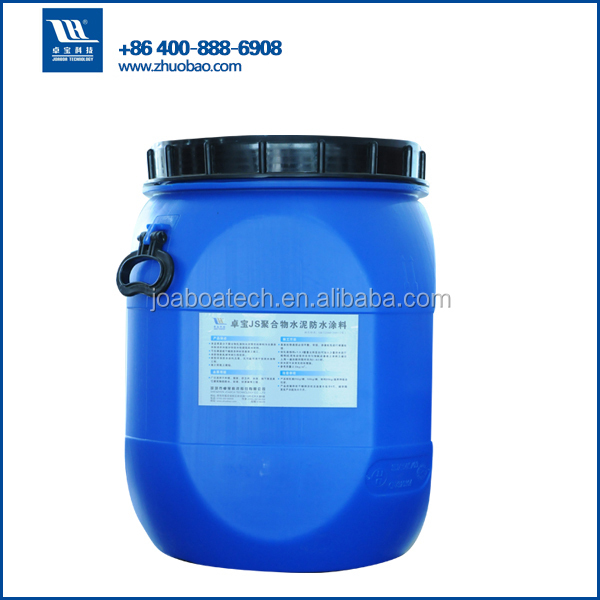 Two components JS Polymer Cementitious construction waterproof materials