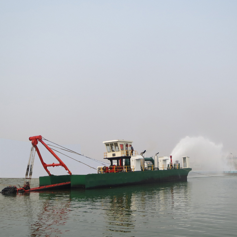 River Cutter Dredging Boat Cleaning/ Desilting Machine