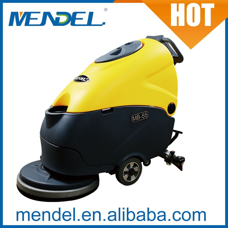 Mendel MB55 Hand Held Electric Floor Cleaning Scrubber Dryer Machine For hotel