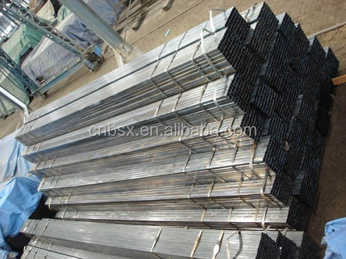 ERW thin wall steel pipe rectangular pipe dimension 20*40mm