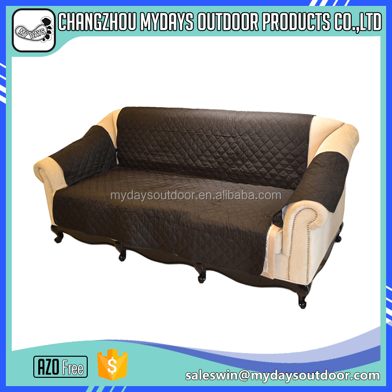 long life stretch cover for l shape sofa with customized logo
