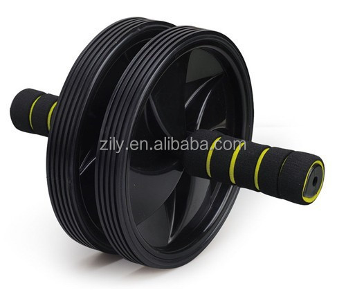 High quality Double wheel AB exercise wheel for fit body AB wheel SG-J16