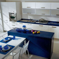 Composite Acrylic High Gloss Kitchen Counter Table Top
