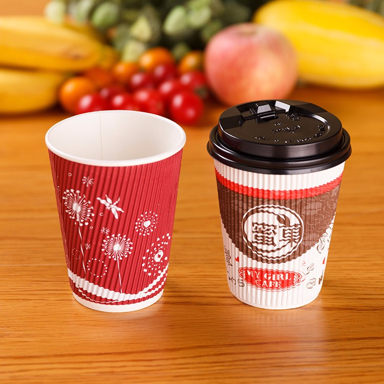 China Professional Manufacture Ripple Cup Coffee