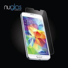 2015 Hot Sell for Samsung Galaxy S5 Tempered Glass Screen Protector, Real Japan Asahi Glass with Nipa Glue