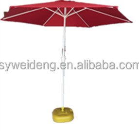 outdoor furniture parasol garden umbrella crank open umbrella