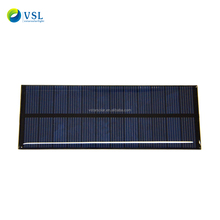 Factory directly supply customized epoxy Resin Solar Panel 0.1w 1w 2w mini solar panels