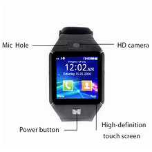 Custom watch Touch Screen Smart Wrist Watch Phone with Camera