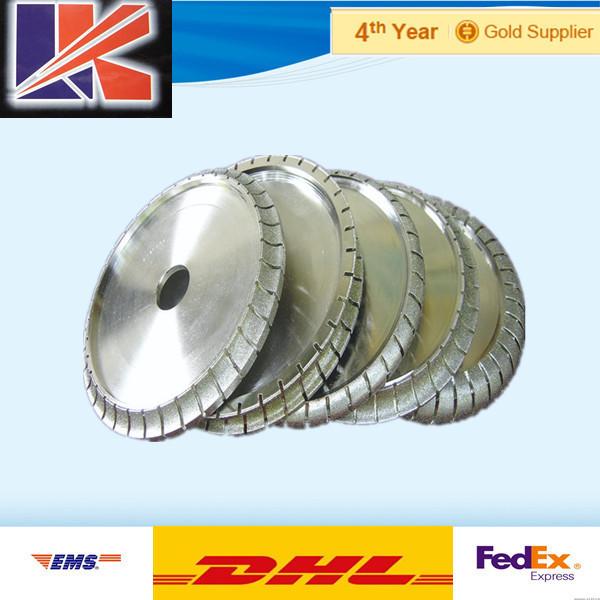 electroplate angle grinder diamond profile grinding wheels