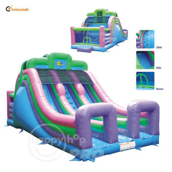 Happy Hop Pro Rent Inflatable Bouncers Toy and Slide-1002 Super Commercial Jumping Castles Sale