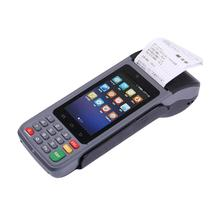 Cheapest factory price touch screen 3G wifi mobile pos terminal handheld parking ticket machine with thermal printer