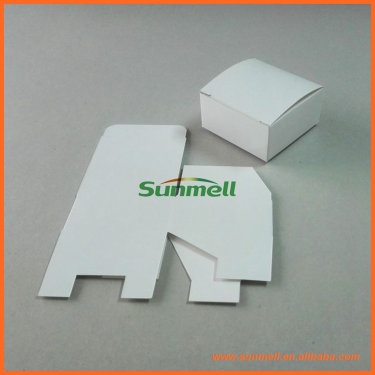 flat packing white templates for paper folding box