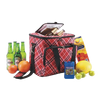 Fruits, Wine, Lunch Meal Zipper Bag, Thermal Hot and Cool Food Carry Bag for Holiday, Travel, Camping Packaging