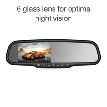 OE looks 1296P dash cam car camera rear view mirror with dvr camera