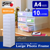 Storage box A4 Japan made modular Storage case file box plastic drawer case plastic case for eyelashes PLUST PHA410