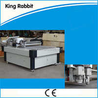 CNC oscillating knife cutting machine for floor shoes making machine
