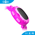 4 Color Options TPU Silicone Strap Android MTK CPU GSM Kids Phone Watch