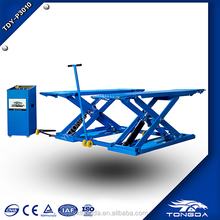 2018 hot sale Scissor type portable hydraulic used car lifts for sale stationary scissor elevator