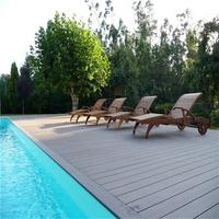 No glue and no painting ! wood plastic composite decking,high quality and low price wpc board,waterproof and fireproof decking