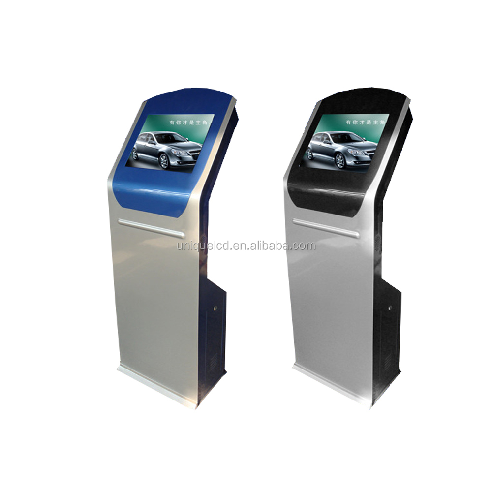 22 inch floor stand touch all in one PC self-service info kiosk