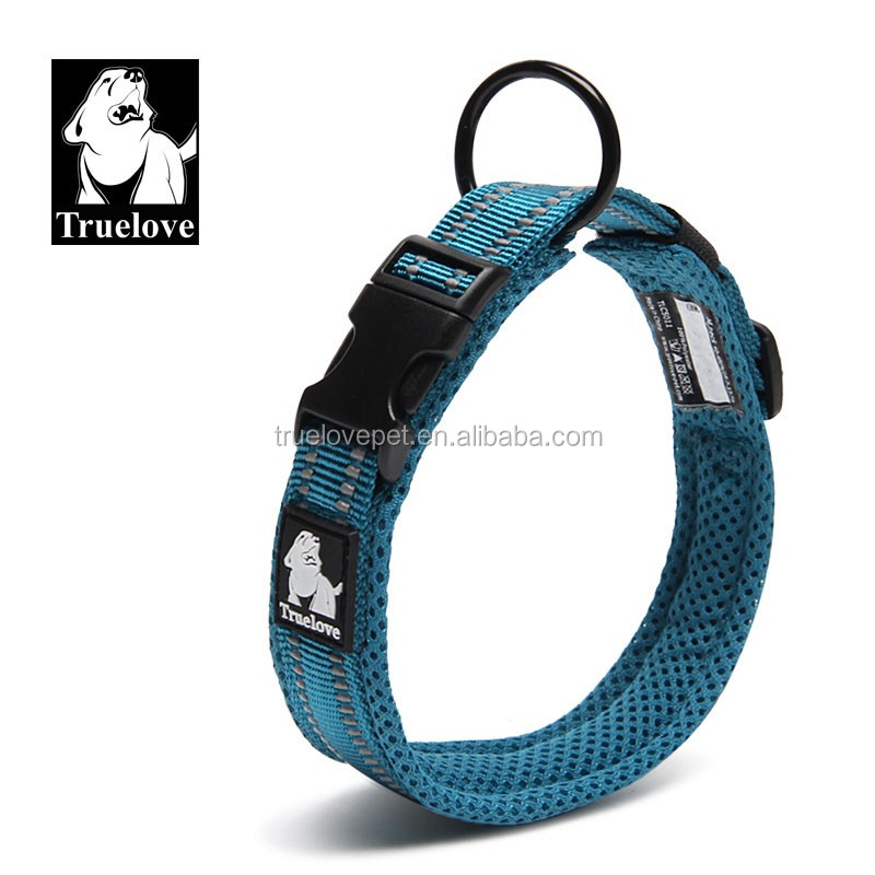Truelove Duraflex Buckle Nylon webbing pet Dog Training Collars