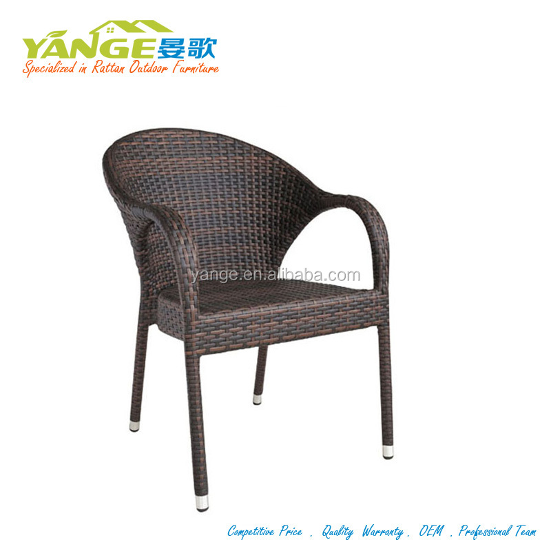 Restaurant Cane Metal French Bistro Rattan Chairs For Sale