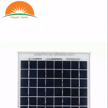 CE certificated 20W Poly crystalline solar panel