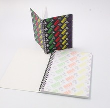 Offset Paper Insert Single Line Spiral Notebook Paper A4,A5,A6 Size School Notebook