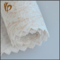 woven linen textile 100% linen fabric /printing fabric for dresses