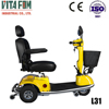 Foldable Three Wheel Electric Scooters with LED Light for Elderly