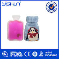 hand warmer hot water bottle with cover