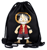 Factory Directly wholesale Black Color Cotton Canvas Shoulder Bag BackPack