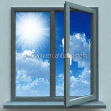 Aluminium casement inward opening , open inside casement window