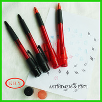 Promotional ballpoint pen with stamp