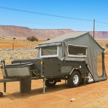 Hot sale classic off road hard floor folding camper trailer for sale to all over the world