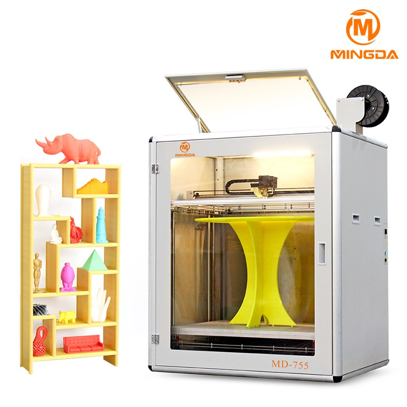Manufacture Direct Sale MINGDA Custom 3D Printer Build Size 700 x 500 x 500 mm Print Race Car Parts Large 3D Printer Price