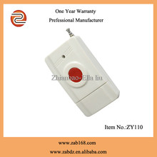 ZY110,200m,Latest,1 red emergency button,wireless Exit remote transmitter,wireless emergency call remote control