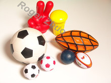 color paste for ball shaped and animal shaped soft stress PU toys