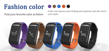 JW-R1 Waterproof NEW! BT4.0 Smart band bracelet Heart Rate Monitor Activity fitness Tracker Wristband smartphone