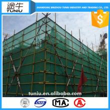 160g hdpe scaffold safety netting