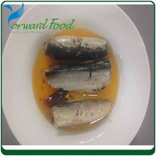 N.W.125G D.W.90G canned sardine fish in brine