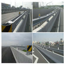 Liaocheng highway guardrail W beam/ post