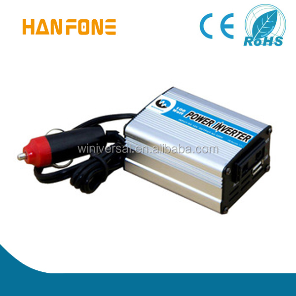 Car use modified sine wave power inverter 100w