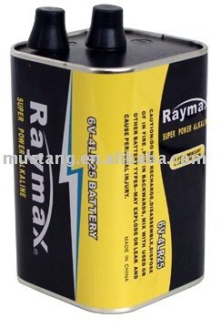 4LR25 alkaline battery