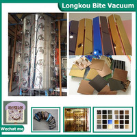 Stainless steel sheet Color PVD titanium coating machine for coated sheets