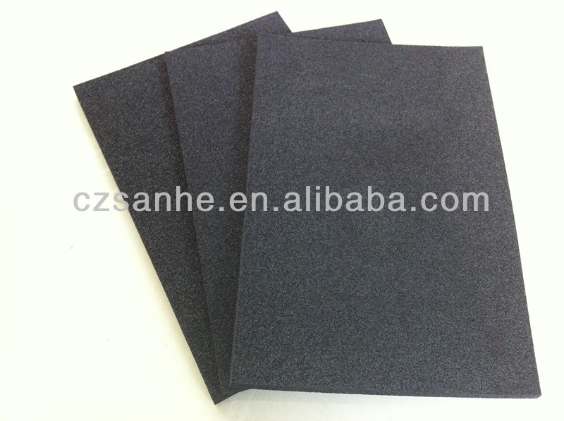 Acoustic insulation NBR/PVC adhesive rubber foam coiled material