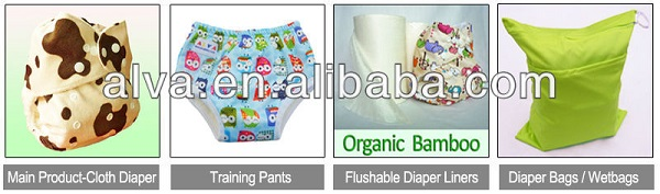 Free Shipping ALVABABY Reusable and Washable Eco-friendly Baby Diapers New Prints Cloth Diaper