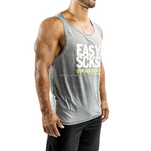 Sexy OEM mens stringer blank drop armhole sublimation tank top for fitness