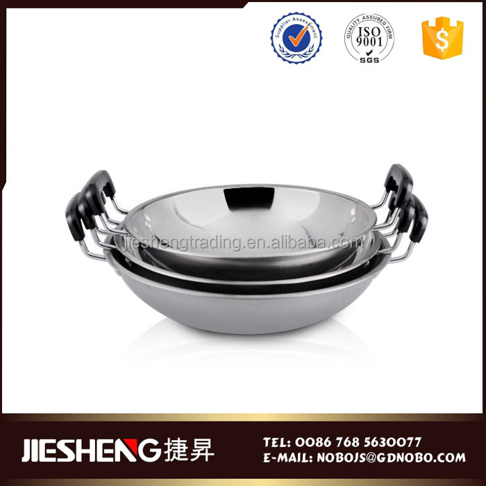 China kitchen accessories large wok pans cook pan